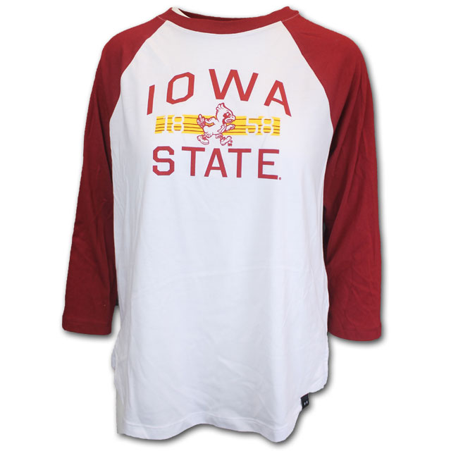 Image For Under Armour® Iowa State & Walking Cy T-Shirt (White)