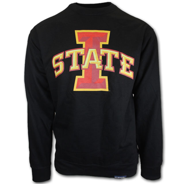 Image For Black I-State Crewneck