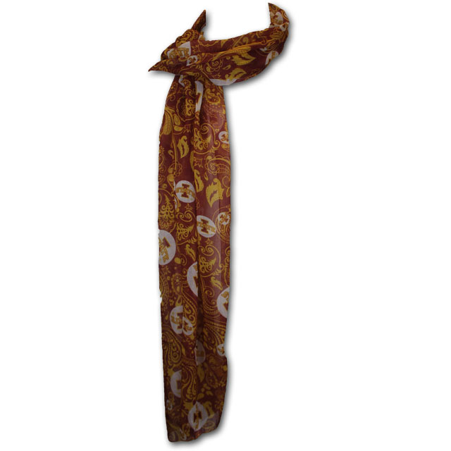 Image For Iowa State Paisley Scarf