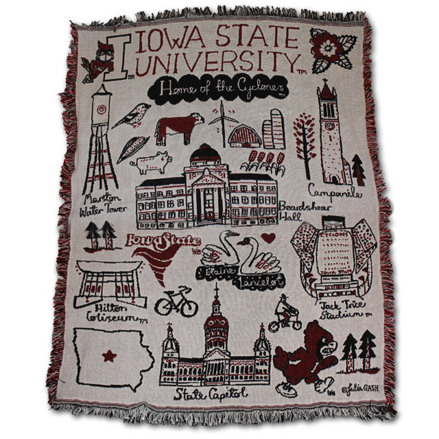 Image For Iowa State Afghan