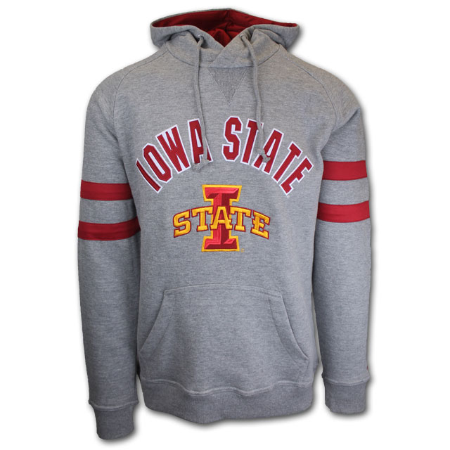 Image For Champion® Iowa State Grey Hoodie