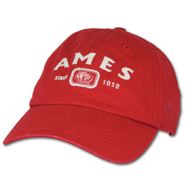 Image For T.O.W. Ames, Since 1858 Cap (Cardinal)