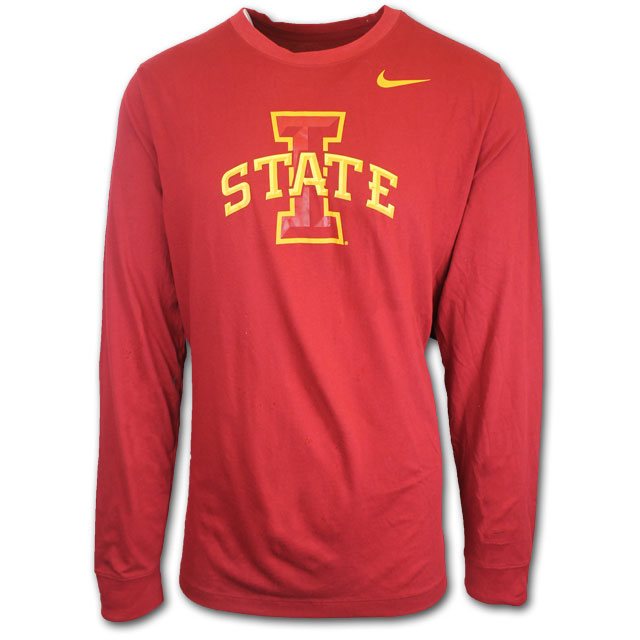 Image For Nike® Long Sleeve I-State T-Shirt