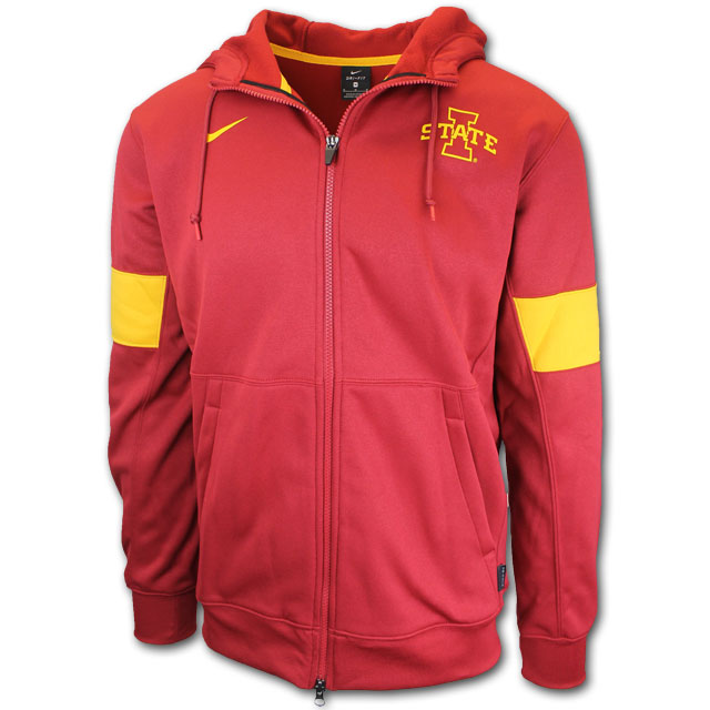 Image For Nike® Full Zip Sweatshirt (Cardinal)