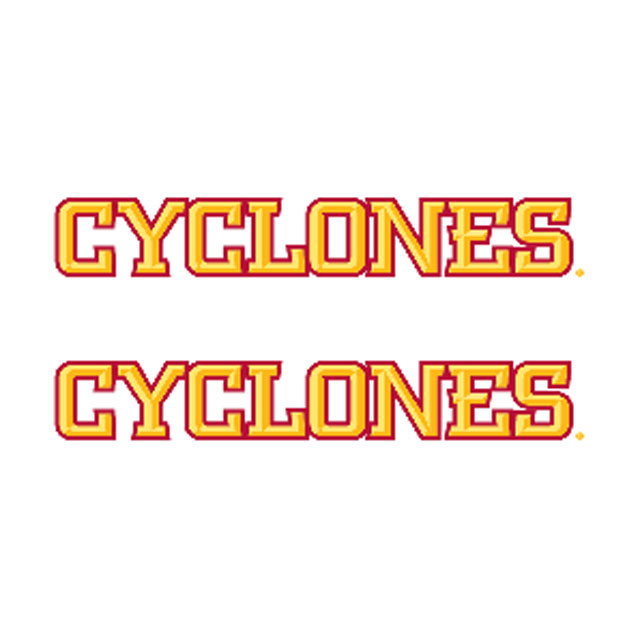 "Image For 5"" 2pk Cyclones Sticker"