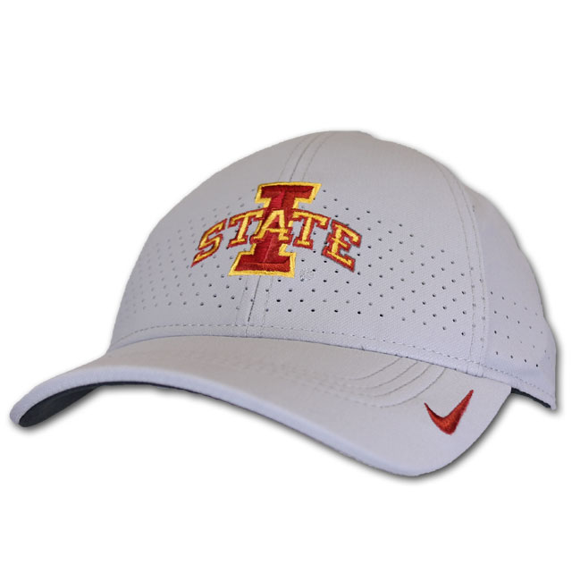 Image For Nike® AreoBill Gray I-State Cap