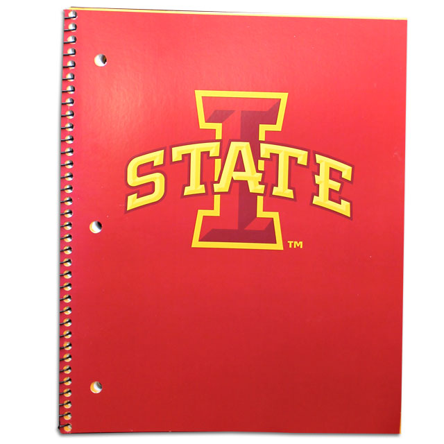 Image For Iowa State 3-Subject Wirebound Notebook