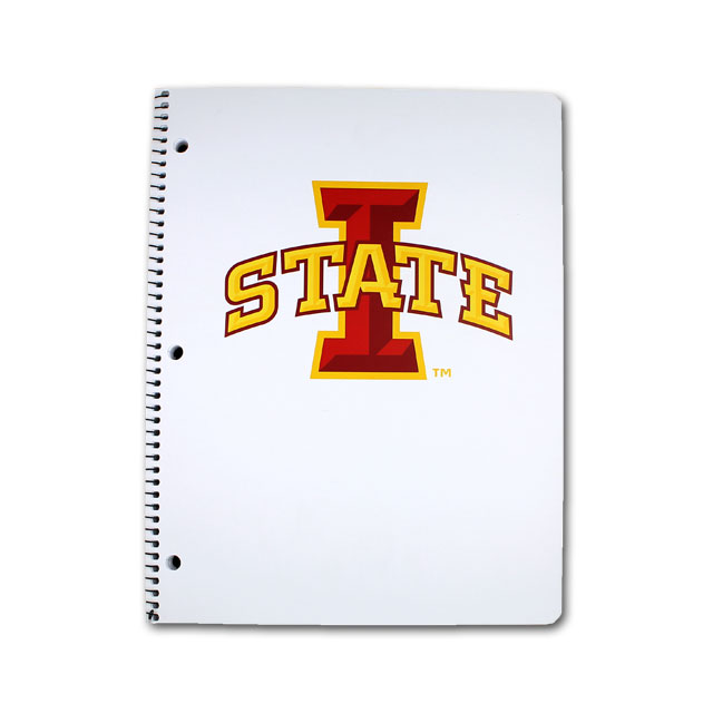 Image For I-State Wire Bound Notebook (White)
