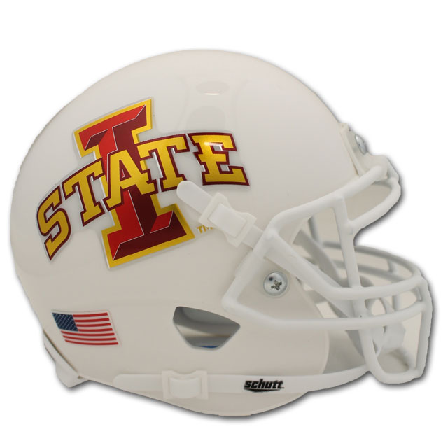 Image For Mini White I-State Helmet
