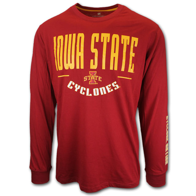 Image For Colosseum® Men's Iowa State T-Shirt, Tall *WAS $33.00