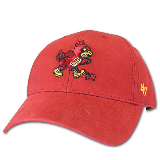 Image For '47 Brand Walking Cy Youth Cap (Cardinal)