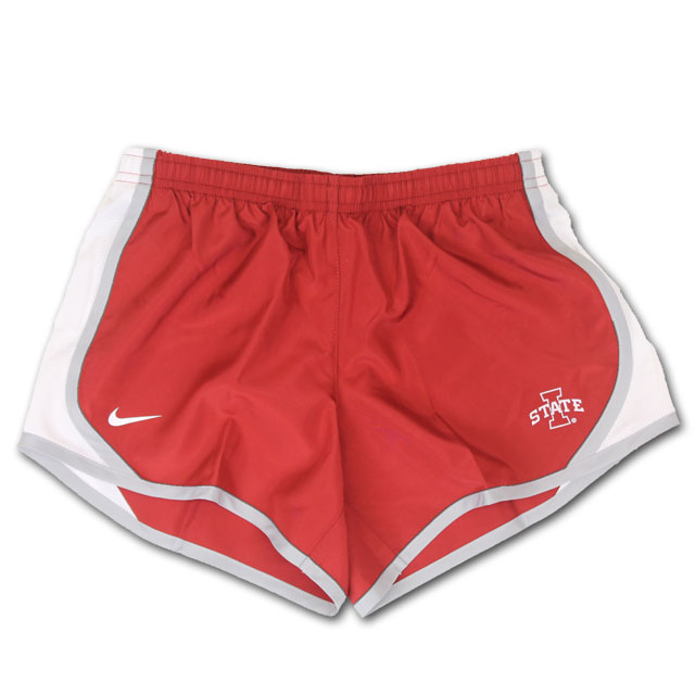 Cover Image For Nike® Youth Girls Shorts (Cardinal)