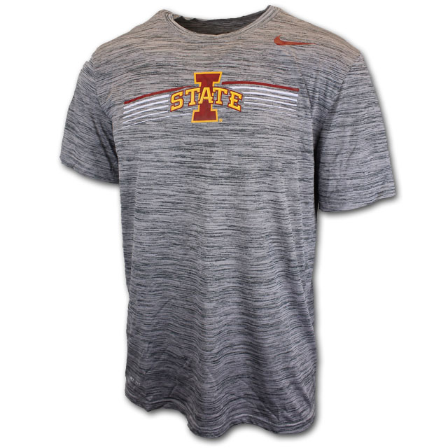 Cover Image For Nike® Gray Stripes T-Shirt
