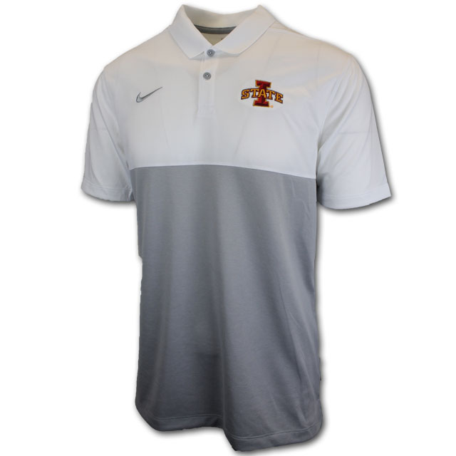 Cover Image For Nike® Men's Polo (Gray)