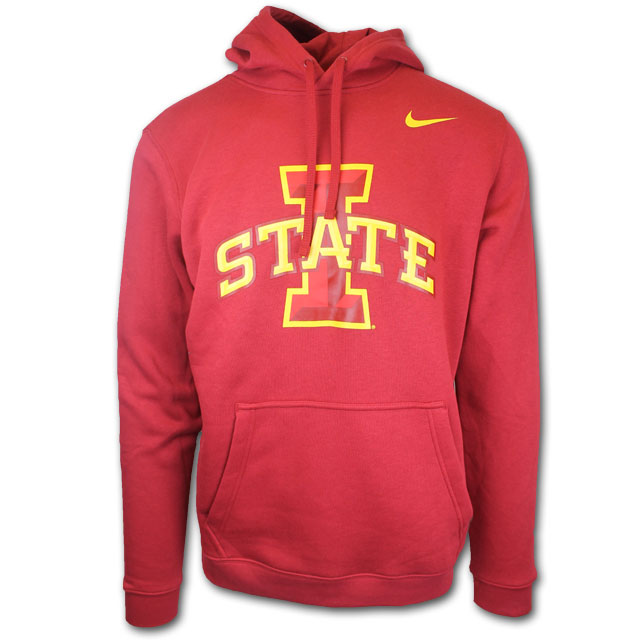 Image For Nike® Hooded Sweatshirt (Cardinal)
