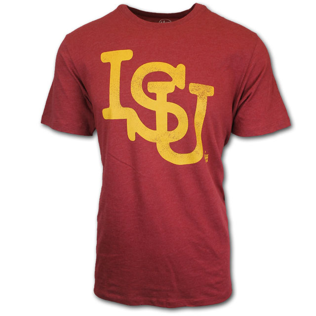 Image For '47 Brand Vintage ISU T-Shirt