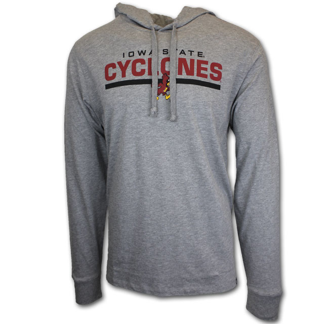 Image For Hooded Gray Sweatshirt