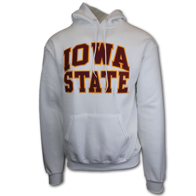 Image For Champion® White Iowa State Hoodie