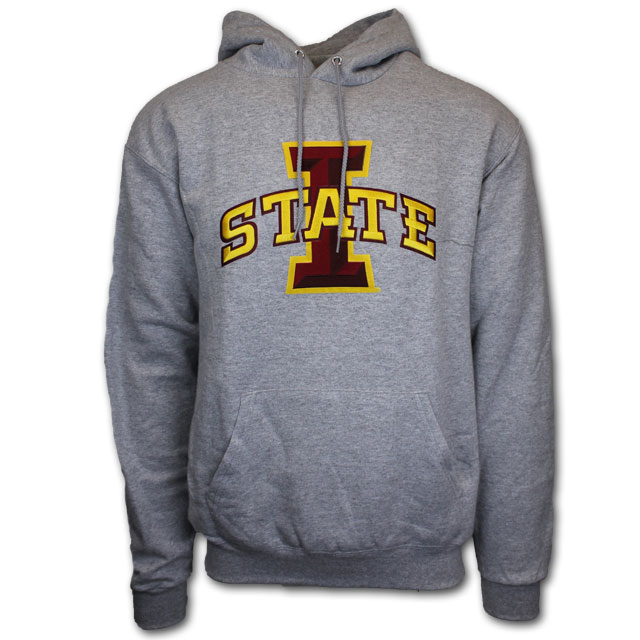 Image For Champion® Grey I-State Hoodie