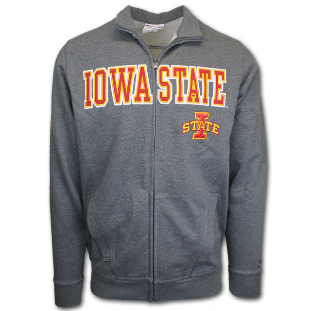 Cover Image For Champion® Full Zip Iowa State Jacket *WAS $65.99