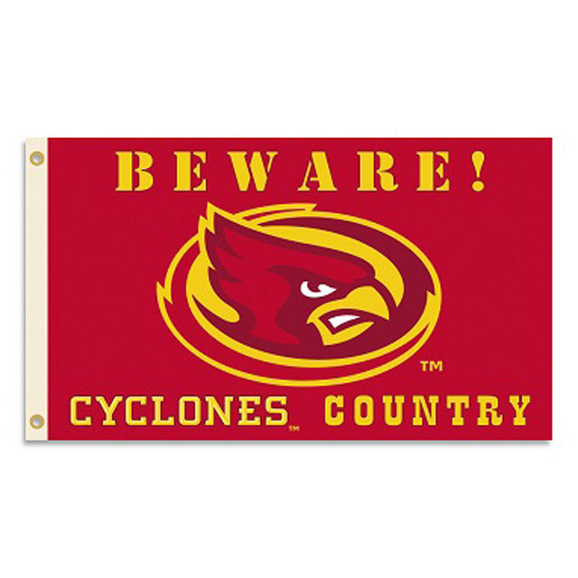 Image For 3x5 Beware Flag