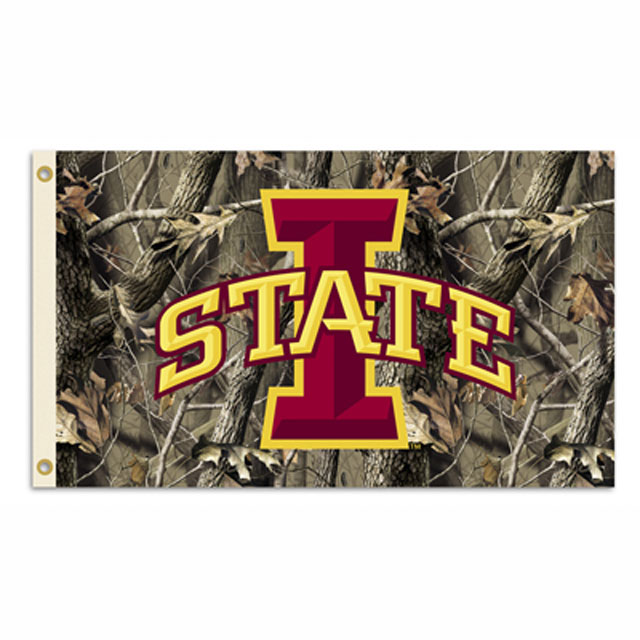 Cover Image For 3x5 I-State Camo Flag