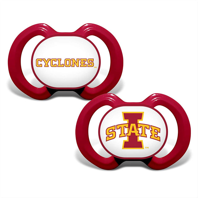 Image For Iowa State Pacifier 2 Pack