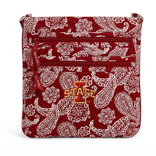 Image For Vera Bradley® Triple Zip Hipster Bag