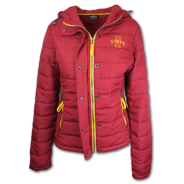 Image For Colosseum® Women's Puffer Jacket (Cardinal)