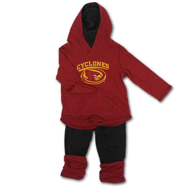 Image For Colosseum® Hooded Sweatshirt and Pants Infant Set