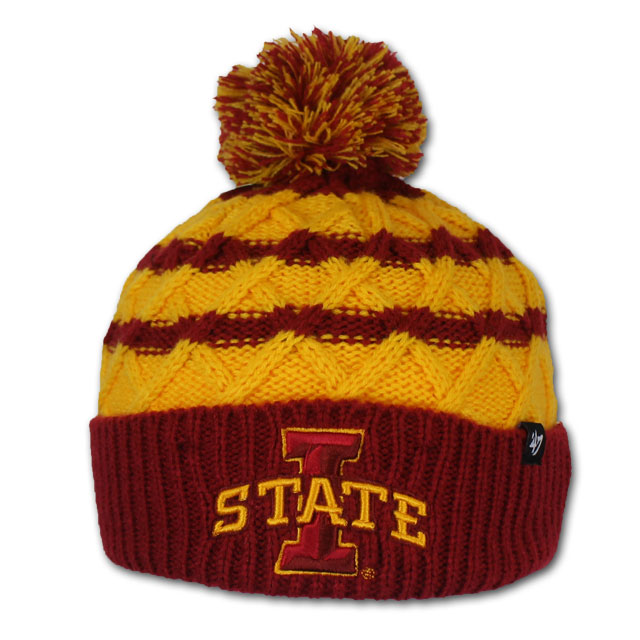 Image For '47 Brand I-State Youth Knit Pom Beanie *WAS $18.00