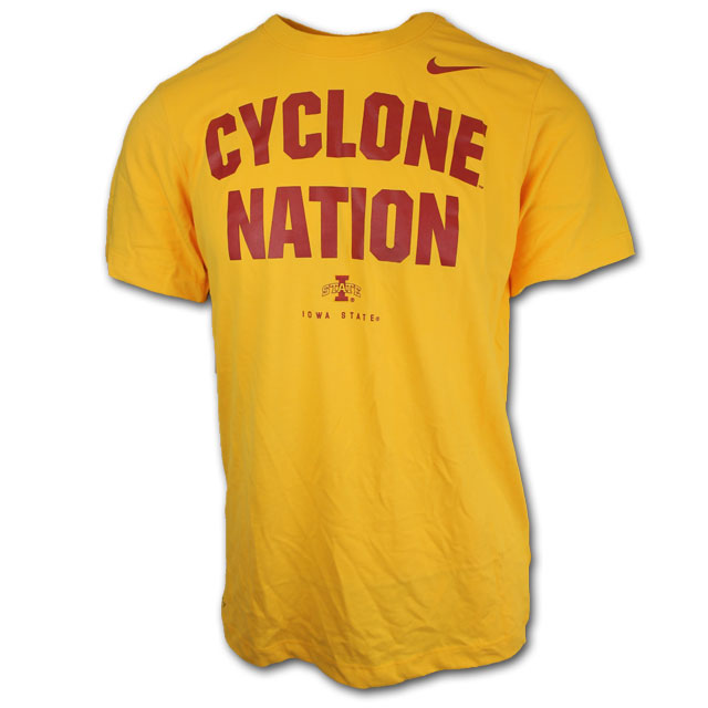Cover Image For Nike® Cyclone Nation T-Shirt (Gold)