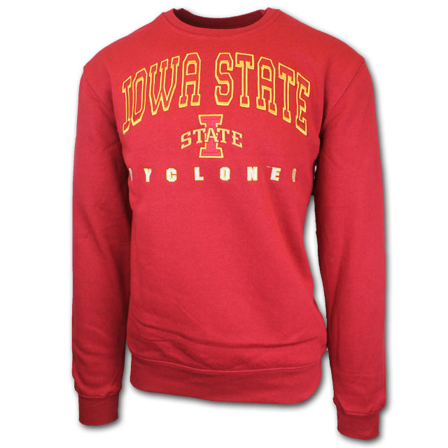 Image For Colosseum® Iowa State Big and Tall Crewneck