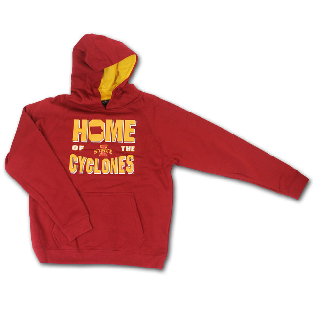 Image For Colosseum® Youth Home Hooded Sweatshirt
