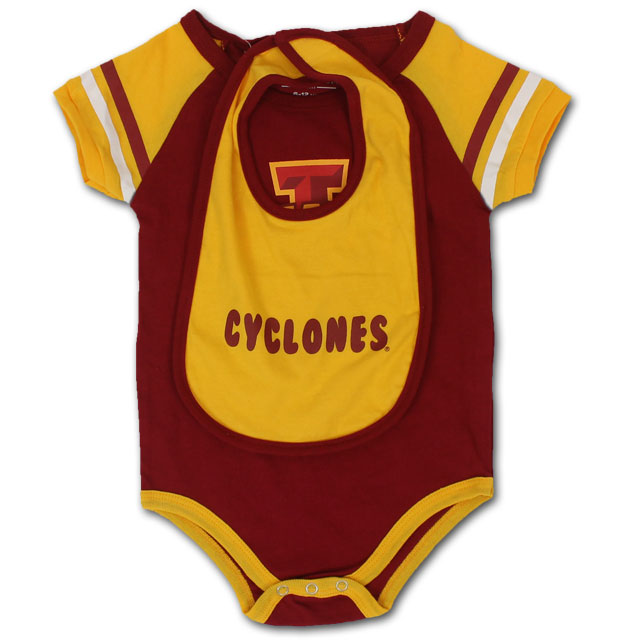 Image For Colosseum® I-State Onesie+Bib