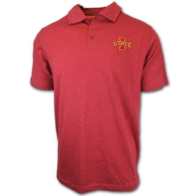 Image For Colosseum® I-State Polo (Cardinal)