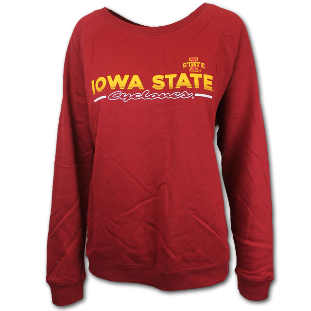 Image For Colosseum® Women's Crewneck (Cardinal)