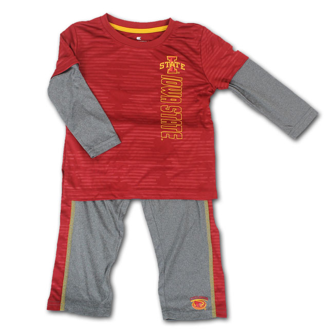Image For Colosseum® Toddler Long Sleeve T-Shirt and Pants Set