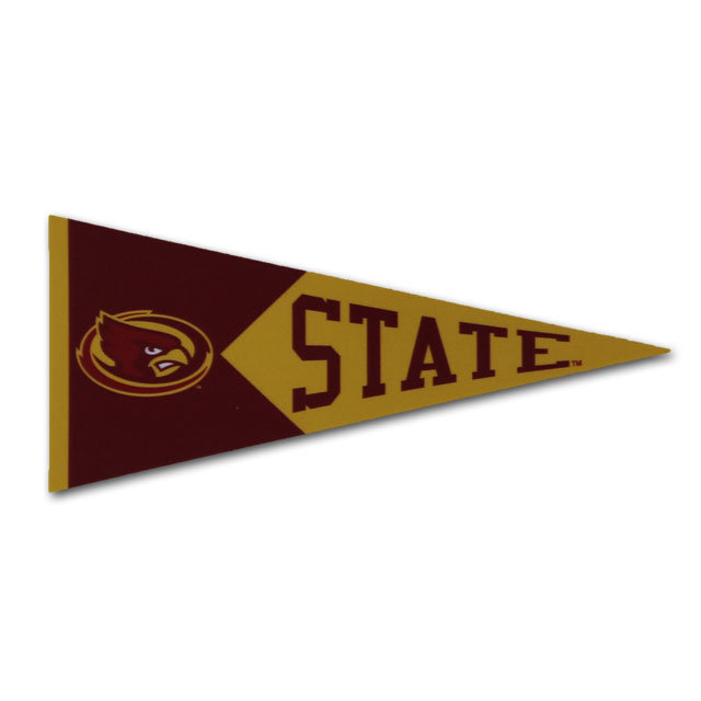 "Image For 2"" State Pennant Sticker"