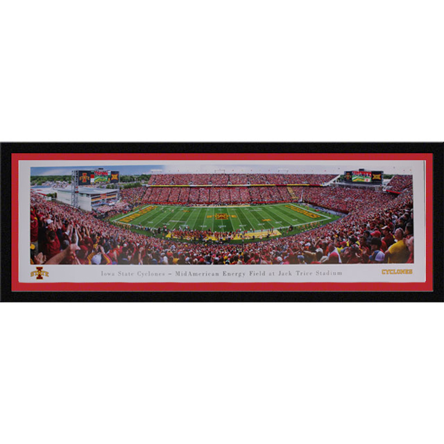Cover Image For Jack Trice Panorama Print (Select Frame)
