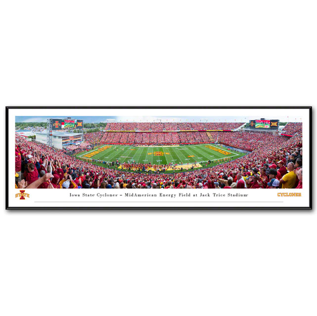 Cover Image For Jack Trice Stadium Panorama (Standard Frame)