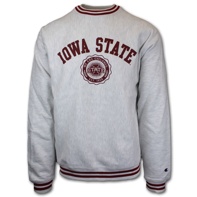 Cover Image For Champion® We Are Cyclones Reverse Weave Sweatshirt