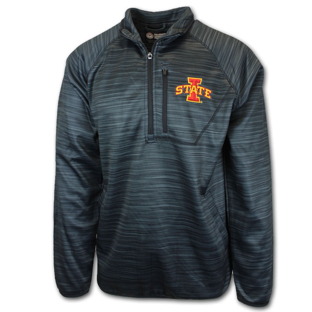 Image For Black 1/2 Zip Pullover
