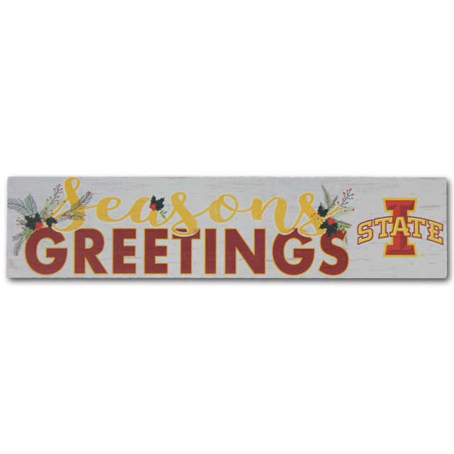 Image For Seasons Greetings Plaque