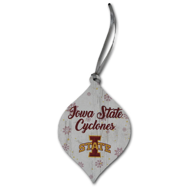 Image For Iowa State Cyclones Snowflake Ornament