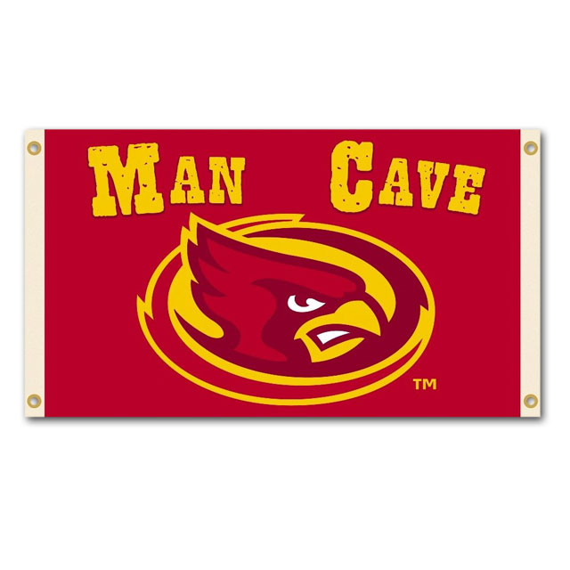 Image For Cy Head Man Cave Flag