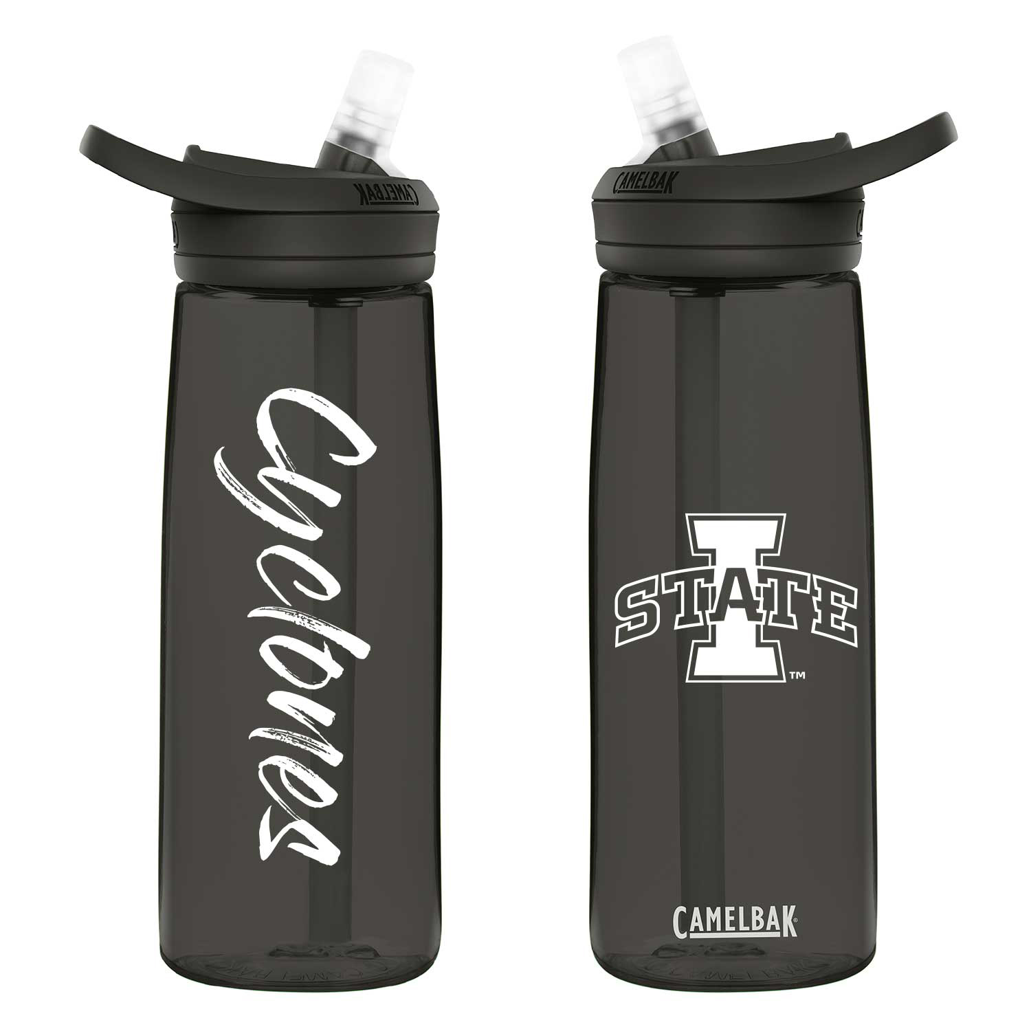 Cover Image For Camelbak Eddy I-State Black 25oz Water Bottle
