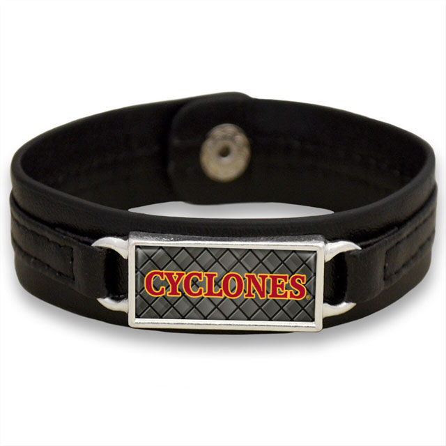 Cover Image For Cyclones Leather Bracelet