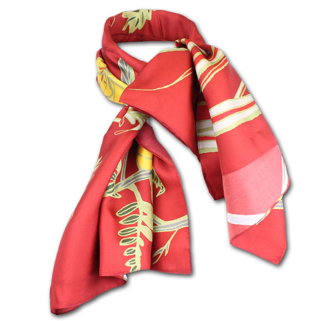 Image For Cardinal Silk Scarf
