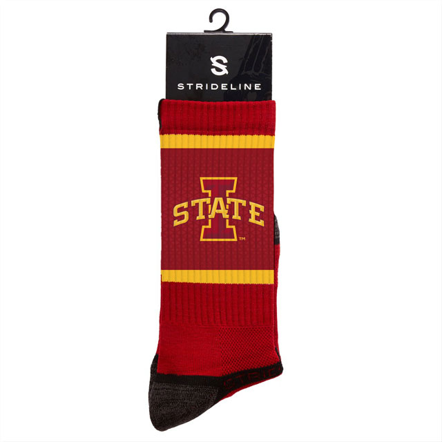 Image For Cardinal I-State Crew Socks